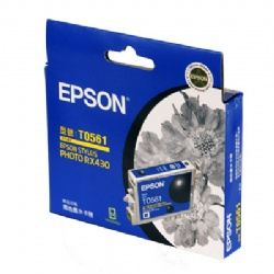 EPSON T056150 RX430黑色墨水匣【展示良品】