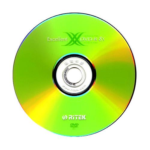 RITEK X2 DVD-R 8X Ecellent裸
