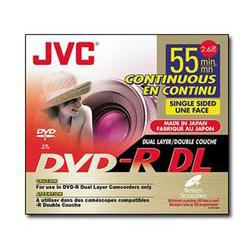 JVC 8cm 2X DVD-RW 2.8G 5片裝