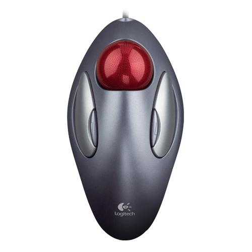 羅技 新木星軌跡球滑鼠USB新版