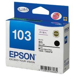 EPSON T103150 No.103 高容量黑色XL墨水匣