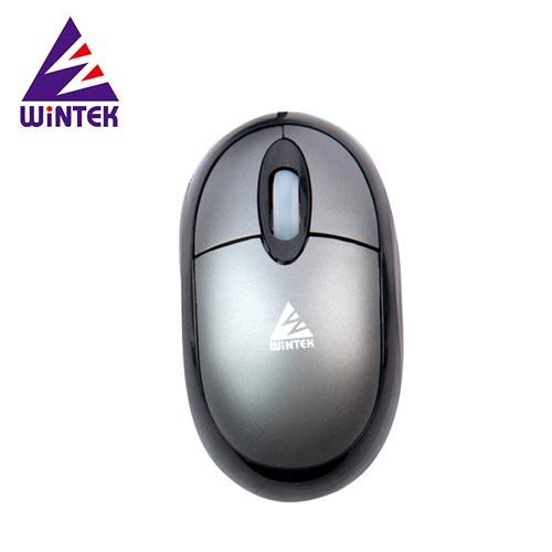 WINTEK 文鎧 WSS30U 雪精靈光學滑鼠 鐵灰