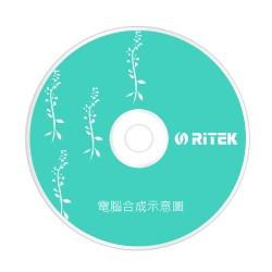 RITEK 52XCD~R繁花綠50P布丁桶