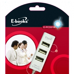 E~books H4巧積木4孔集線器