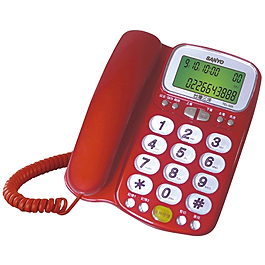 SANYO 三洋 有線電話機 TEL-986