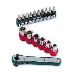 16合1直匣式棘輪替換扳手組英制