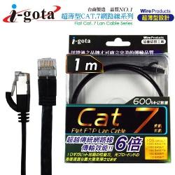 Cat.7超高速薄型 連接線 1米