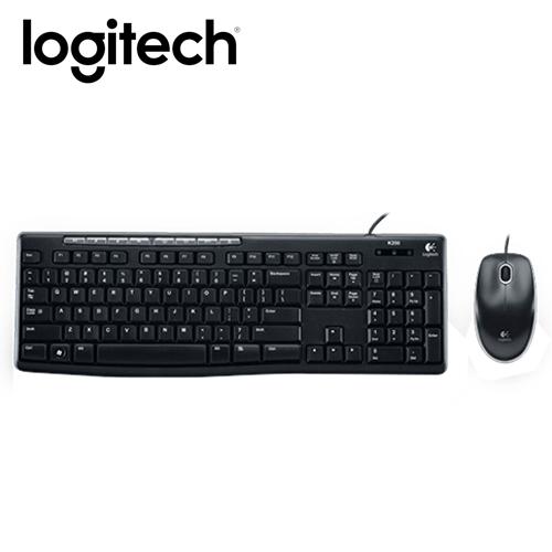 Logitech 羅技 MK200 有線鍵鼠組