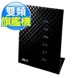 ASUS華碩 RT-N56U 300Mbps 黑鑽石雙頻Gigabit無線N路由器【展示良品】