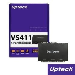 VS411 4-PORT 螢幕分配器