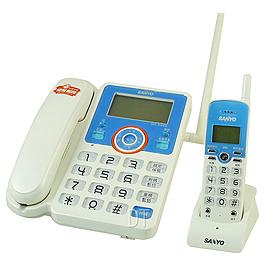 SANYO 來電顯示親子無線電話機 CLT-2096