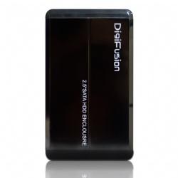 伽利略2.5吋SATA硬碟外接盒-黑