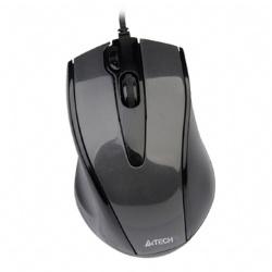 A4 雙飛燕 N-500F 針光有線截屏滑鼠 黑