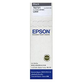 EPSON T673100 黑色墨水 (L800)