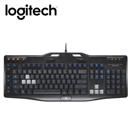 羅技遊戲專用鍵盤 G105
