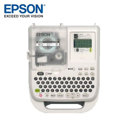 EPSON愛普生 可攜式標籤印表機 LW-500
