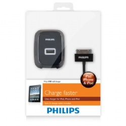 PHILIPS DLP2232充電器2.1A+線【展示良品】