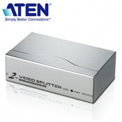 ATEN2埠VGA視訊螢幕分配器VS92A