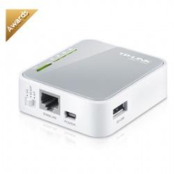 TP-LINK TL-MR3020 可攜式3G/4G無線N路由器
