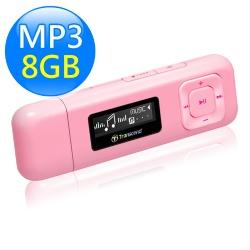 創見 T.sonic MP330 8GB音樂播放器 粉