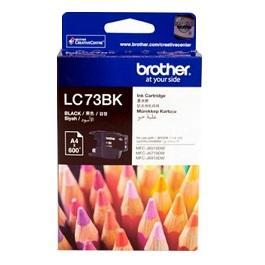 Brother  LC73BK 黑色墨水匣