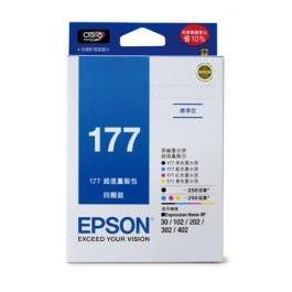 EPSON  T177650 177量販包 黑/藍/紅/黃