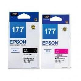 EPSON T177150 T177350 黑紅色墨水匣