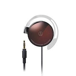 鐵三角 ATH-EQ300M 輕量薄型耳掛式耳機 棕