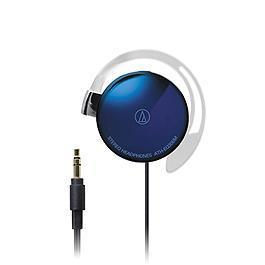 鐵三角 ATH-EQ300M 輕量薄型耳掛式耳機 紫