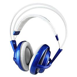 賽睿 SS SIBERIA V1 頭戴式耳麥 極光藍