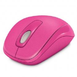 Microsoft 微軟 無線行動滑鼠 1000 洋紅【展示良品】