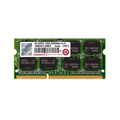 創見 8GB DDR3L 1600記憶體 NB用