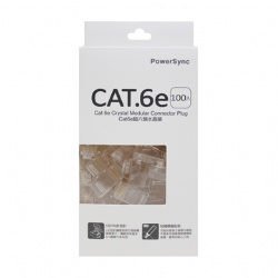 CAT6-G8P8C3100單件水晶接頭100