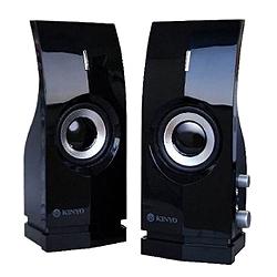 KINYO 2.0聲道兩件式多媒體音箱 PS-291