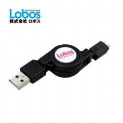 LOBOS MICRO充電傳輸伸縮線 CS4M