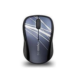 雷柏 3100P 5.8G無線光學滑鼠 藍【展示良品】