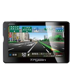 Trywin DTN-5500 5吋3D建物版GPS