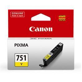 CANON CLI-751Y 黃色墨水匣