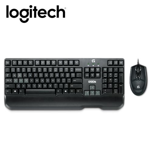 Logitech 羅技 G100S 玩家級鍵盤滑鼠組