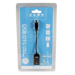 MICRO USB OTG 資料傳輸線(黑)