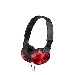 SONY 索尼 MDR~ZX310AP~R MOBILE耳罩耳麥 紅