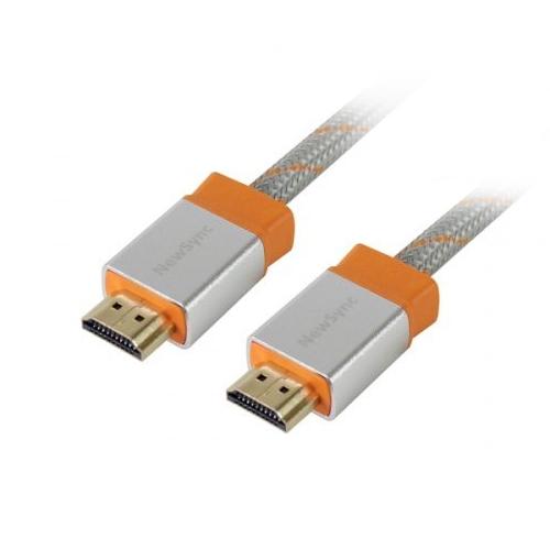 群加 HDMI4~ERMEN159 高速乙太 傳輸線 1.5M 白