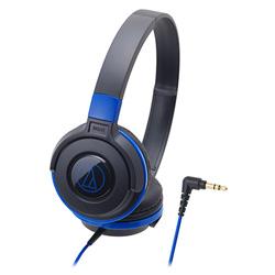 鐵三角 ATH-S100 頭戴式耳機 黑藍