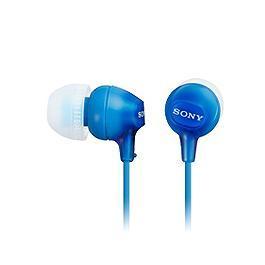 SONY 索尼 MDR-EX15LP-LI 輕巧耳道式耳機 藍