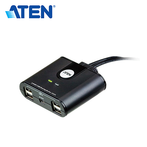 ATEN 2埠USB週邊分享裝置 US224