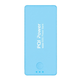 PQI i-Power 5000C 5000mAh鋰聚合電芯行動電源 藍