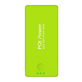 PQI i-Power 5000C 5000mAh鋰聚合電芯行動電源 綠