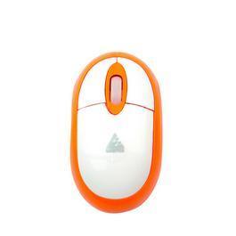 WINTEK 文鎧 WSS30U 雪精靈光學滑鼠 橘白