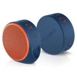 羅技 X100 無線音箱 亮橘