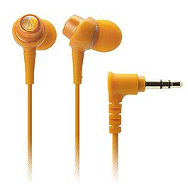 鐵三角 ATH-CKL203 耳塞式耳機 橘